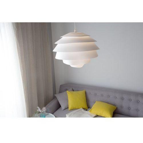 Beliani Lampa wisząca biała congo (4260602371144)