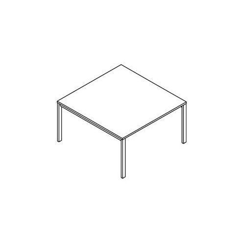 Stół konferencyjny BSA123 (stelaż metalowy) wymiary: 137x140x75,8 cm, BSA123