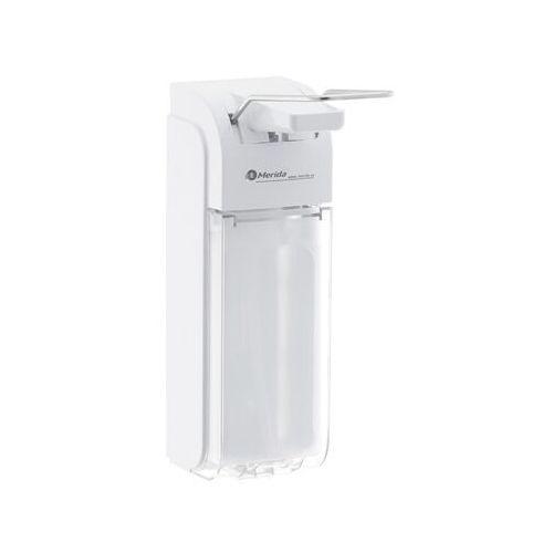- dozownik płynu dezynfekcyjnego - łokciowy - 1000 / 500 ml d8p - 3 lata gwarancji marki Merida