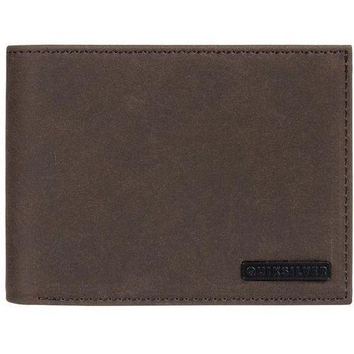 Portfel - bridgies iii chocolate brown (csd0) rozmiar: l marki Quiksilver