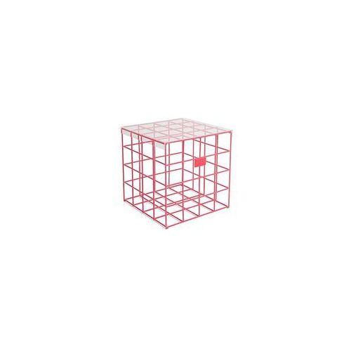 Bold monkey stolik kawowy cage fight square różowy bm23025 (8718548055292)