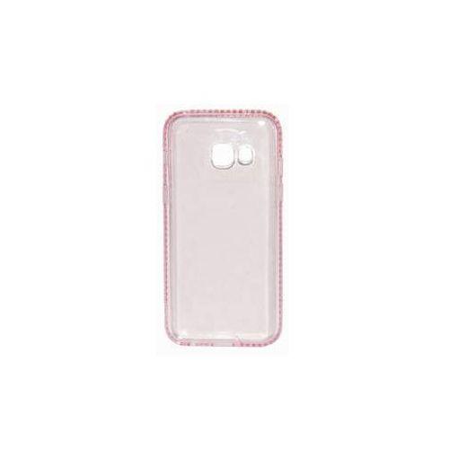 Obudowa dla telefonów komórkowych  diamond frame pro samsung galaxy a3 (2017) (beasagaa32017tpufrpi) różowy marki Beeyo