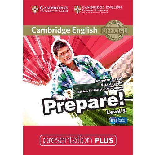Cambridge english prepare! 5 presentation plus (płyta dvd) marki Cambridge university press