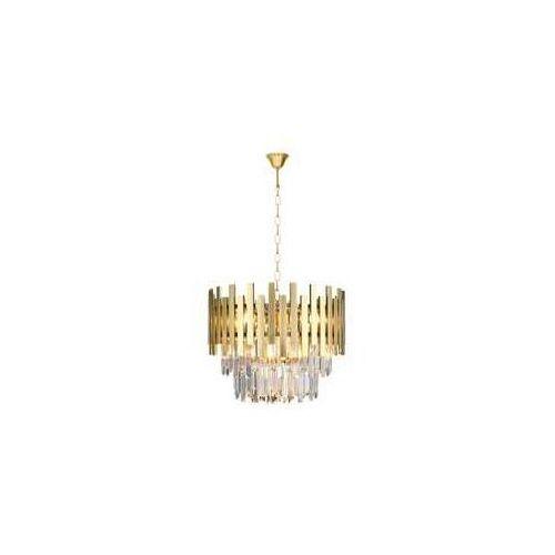 Milagro Aspen Gold ML5999 lampa wisząca zwis 6x40W E14 złota