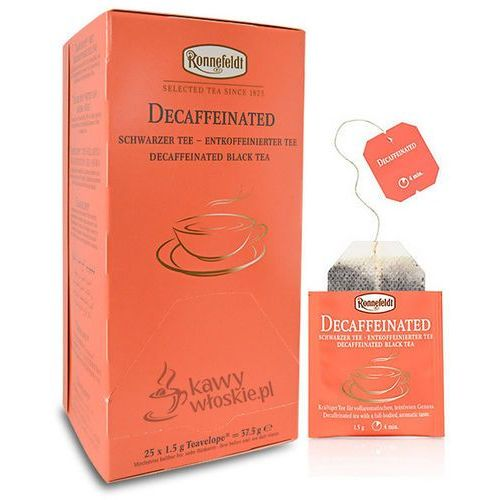 Ronnefeldt Czarna herbata  teavelope decaffeinated 25x1,5g