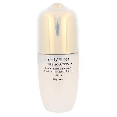 Shiseido FUTURE Solution LX Total Protective Emulsion SPF15 75ml W Serum do twarzy Tester