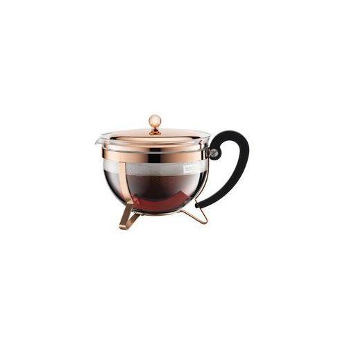 Bodum Zaparzacz tłokowy do herbaty chambord 1,3l miedziany