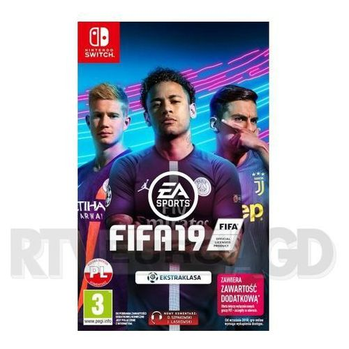 Fifa 19 nintendo switch marki Electronic arts