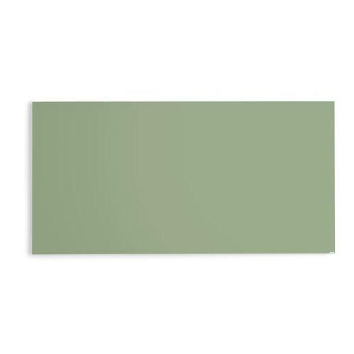 Szklana tablica suchościeralna, 2000x1000 mm, pastelowy zielony