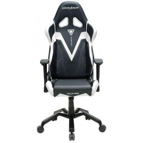 Dxracer fotel valkyrie vb03/nw, czarny/biały (vb03/nw)