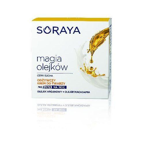 Soraya magia olejków krem odżywczy na dzień i noc - cera sucha 50 ml - soraya od 24,99zł darmowa dostawa kiosk ruchu