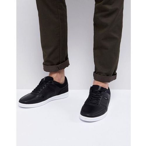 Jack & Jones Trainers With Perforated Panels - Black