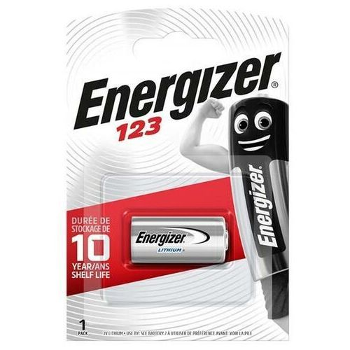Bateria Energizer Photo Lithium CR123 /1 szt., 7638900052008