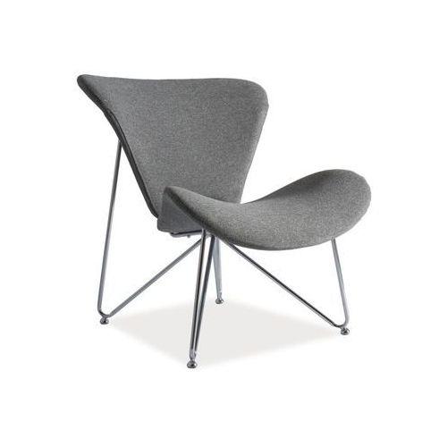 Nowoczesny fotel REST grey