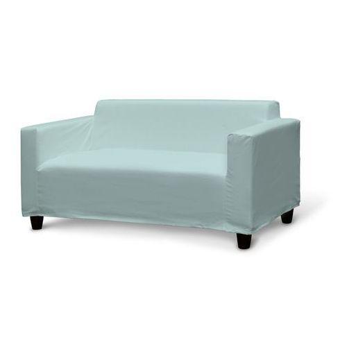 Dekoria Pokrowiec na sofę Klobo, pastelowy błękit, sofa Klobo, Cotton Panama, kolor niebieski