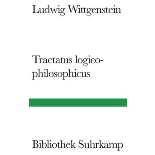 Logisch-philosophische Abhandlung. Tractatus logico-philosophicus (9783518223222)