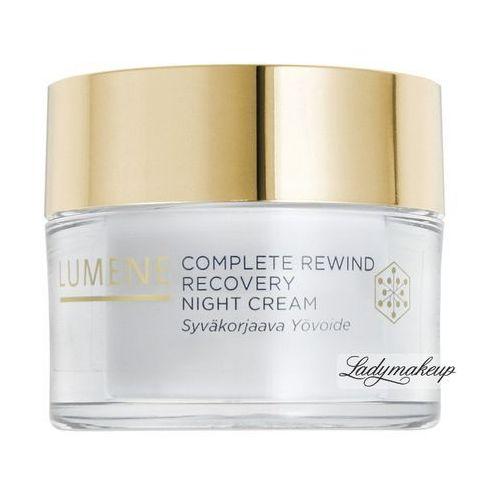 Lumene complete rewind - regenerujący krem przeciwzmarszczkowy do twarzy na noc, 50 ml