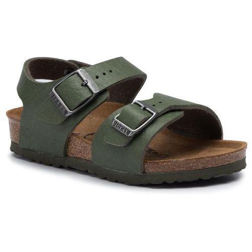 Sandały BIRKENSTOCK - New York Kids Bs 1014523 Saddle Green