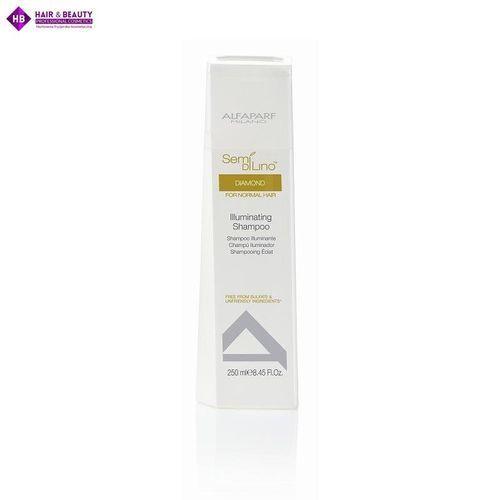 Alfaparf  semi di lino diamond shampoo - szampon rozświetlający 250 ml (8022297012636)