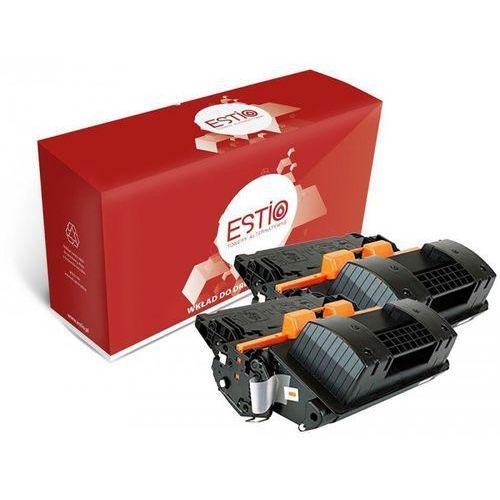 Dwupak tonerów do hewlett-packard (hp) laserjet m4555 m4555fskm 600 m602n m603n ce390xd e-t390xd marki Estio