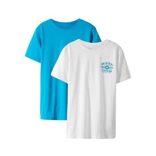 Bonprix T-shirt z komiksowym nadrukiem jasnoszary melanż