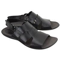 06-0347-01-7-01-03 czarny, sandały męskie - czarny marki Nik
