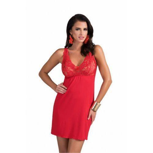 Donna Koszula nocna model sally miseczki soft red