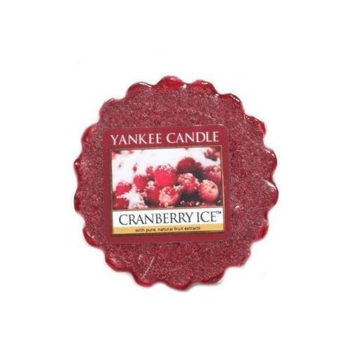 Yankee candle wax - cranberry ice wosk zapachowy 22g (5038580010602)