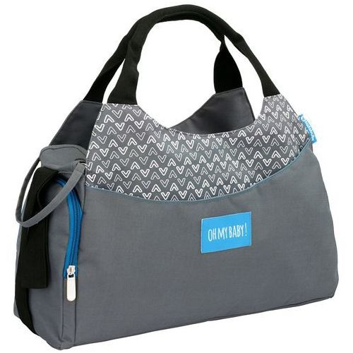Badabulle torba do przewijania MULTIPOCKET Grey (3661276149540)