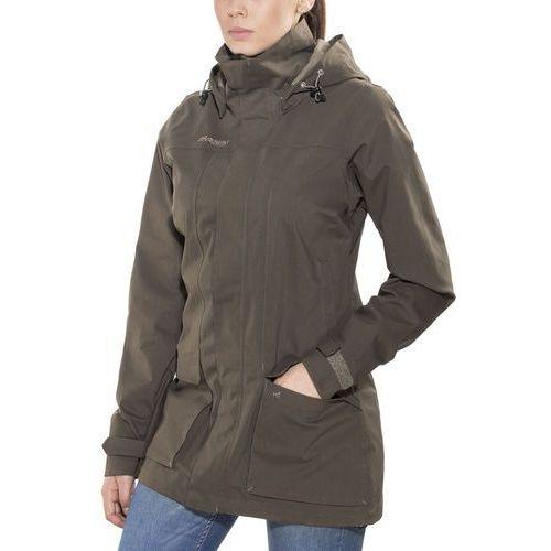 syvde kurtka kobiety brązowy s 2018 kurtki przeciwdeszczowe marki Bergans