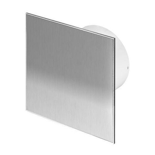 Cichy wentylator łazienkowy Silent + Wymienne Panele Czołowe Różne Funkcje: Higro,Timer Model: Timer + Higrostat, Średnica: 100 mm, Panel frontowy: Inox