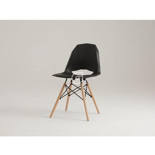 Customform Krzesło match wood czarny by