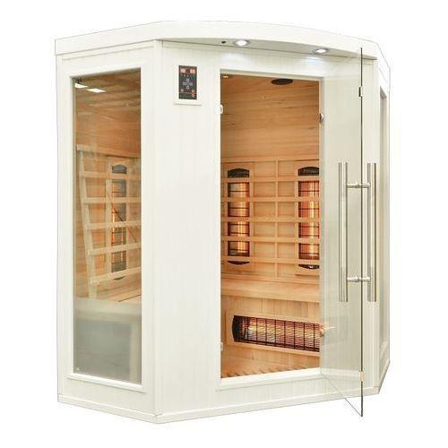 Sauna infrared cp3c gs biała koloroterapia marki Home&garden