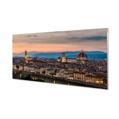 Obrazy akrylowe Włochy Panorama góry katedra