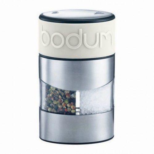 BODUM - Młynek 2w1 do soli i pieprzu, mleczny,Twin, 11002-913 (12389499)