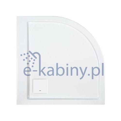 Sanplast space line brodzik półokrągły lewy 90x80 cm typ bp-l/space 615-110-0420-01-000 (5907805224264)