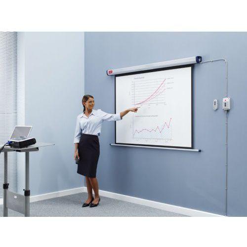 Ekran elektryczny 4:3 245x185cm mattwhite przekatna 300cm marki Nobo