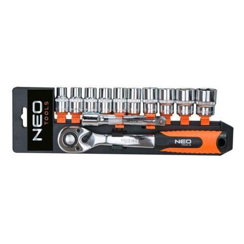 Neo Zestaw kluczy nasadowych 6 - 22 mm 1/2 cala 08-654 (12 elementów) + darmowy transport! (5907558412987)