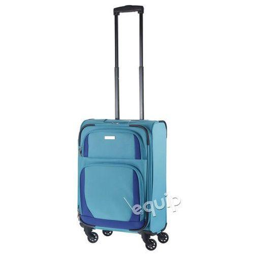 Walizka kabinowa paklite rocco - turkusowy/niebieski marki Travelite