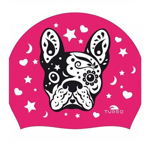 swim perrito czepek pływacki kobiety różowy 2018 czepki pływackie marki Turbo