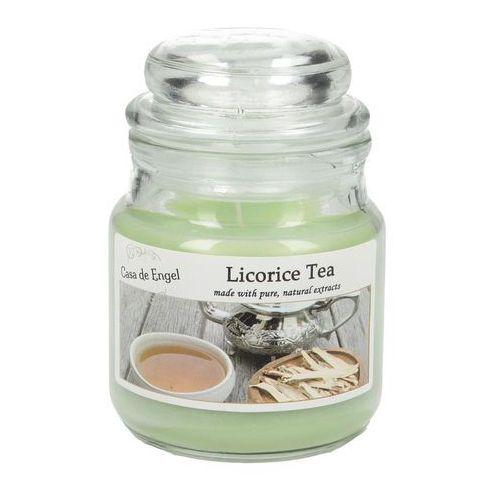 Dekoria Świeca zapachowa Licorice Tea 80g, 6x6x8,5cm