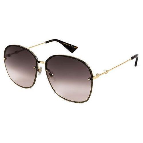 Okulary słoneczne gg0228s 003 marki Gucci