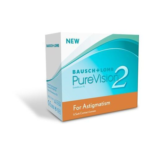 Bausch&lomb Soczewki purevision 2hd for astigmatism 6szt.