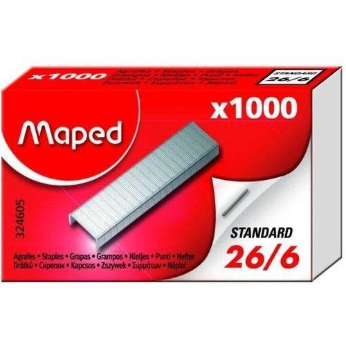 Zszywki MAPED 26/6 1000 szt. - X08273