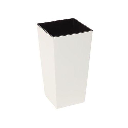 Doniczka plastikowa 35 x 35 cm kremowa FINEZJA (5900119745418)