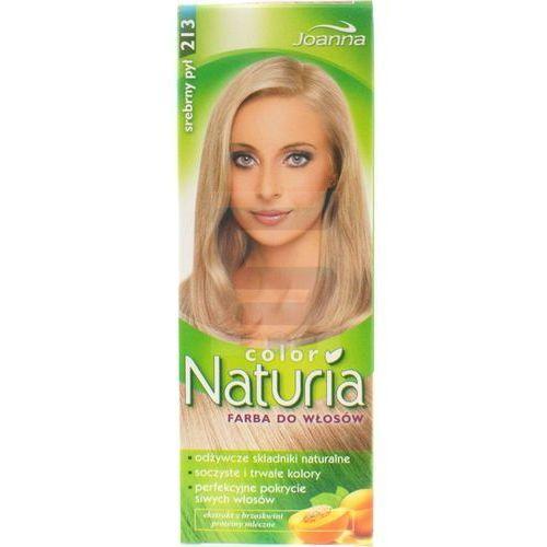 Joanna Naturia Color Farba do włosów Srebrny Pył nr 213 (5901018055448)