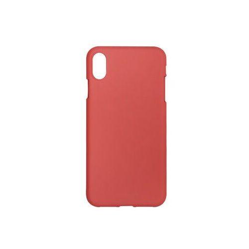 Apple iphone xs max - soft feeling - czerwony marki Mercury goospery