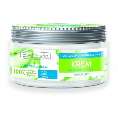 Face & body cream nawilżający krem do twarzy i ciała aloes 200ml marki Bielenda