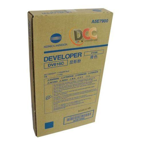Konica minolta developer / wywoływacz cyan dv-616c, dv616c, a5e7900
