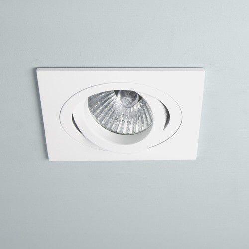 Astro lighting Oczko taro square adjustable gu10 white żarówka led gratis!, 5642